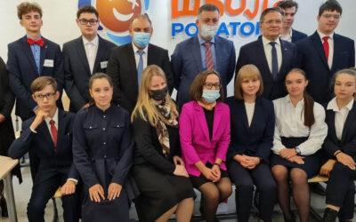 Генеральный директор Госкорпорации «Росатом» Алексей Лихачёв посетил атомкласс МБОУ «СОШ №12» города Усолье-Сибирское